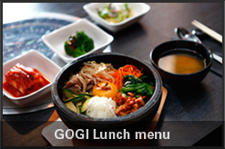 GOGI lunch menu download